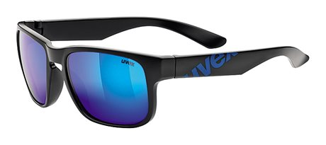 UVEX LGL 22, BLACK MAT BLUE/MIRROR BLUE