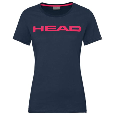 HEAD Club Lucy T-Shirt Women Dark Blue/Magenta