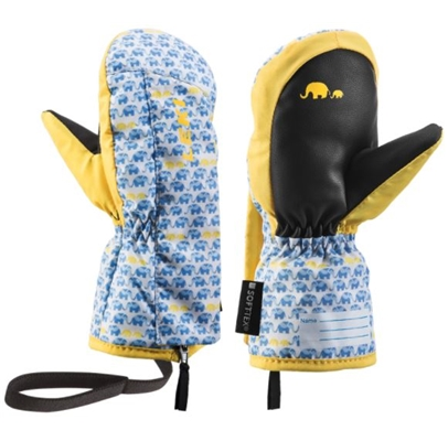 Leki Little Elephant Zap Mitt blue-yellow 640889401 19/20