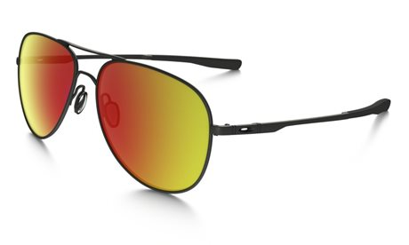 OAKLEY Elmont L Stn Black w/ Ruby Iridium