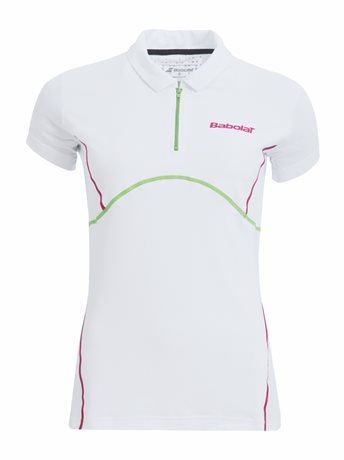 Babolat Polo Girl Match Performance White 2015