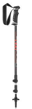 Produkt Leki Journey Lite red/white 100-135 cm 6492184 2019