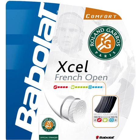 Babolat Xcel French Open Black 12m 1,30