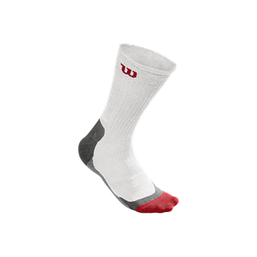 Produkt Wilson M High End Crew Sock White