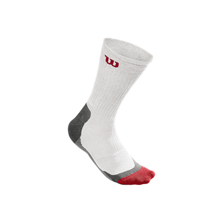 Wilson M High End Crew Sock White