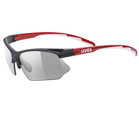 UVEX SPORTSTYLE 802 VARIO, BLACK RED WHITE (2301) 2021