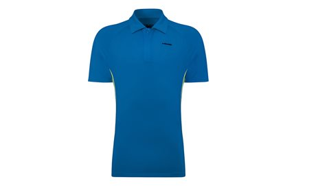 HEAD Push Polo Men Blue