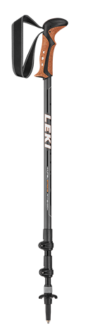 Leki Khumbu Antishock anthracite/orange/white/black 110 - 145 cm 6492026 2021