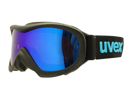 UVEX WIZZARD DL MIRROR black-blue/ltm blue/lgl S5538252226