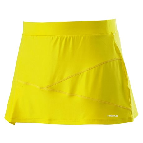 HEAD ADA GIRLS - SKORT Yellow