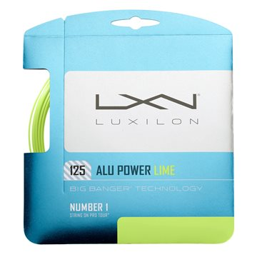 Produkt Luxilon Alu Power 1,25mm LE Lime 12,2m