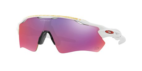 OAKLEY Radar EV Path TdeF Mtt Wht w/ PRIZM Road