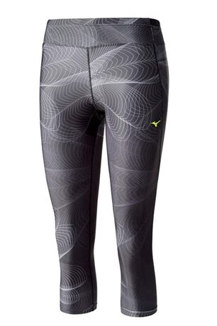Mizuno Lotus 3/4 Tights Black J2GB621209