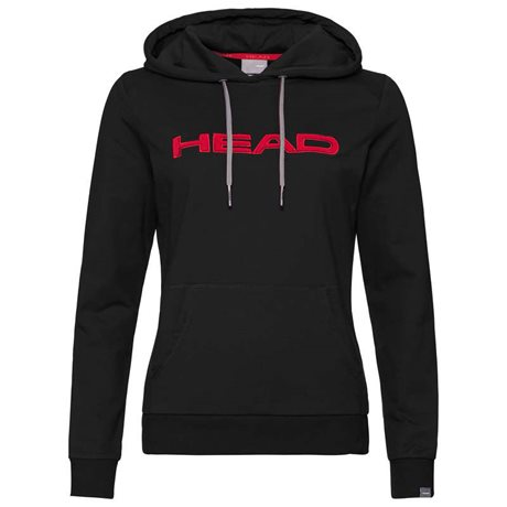 HEAD Club Rosie Hoodie Women Black/Red