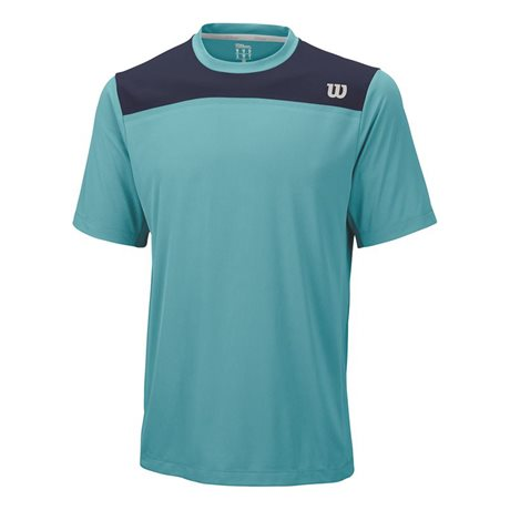 Wilson Knit-Stretch Woven Crew Cool Mint