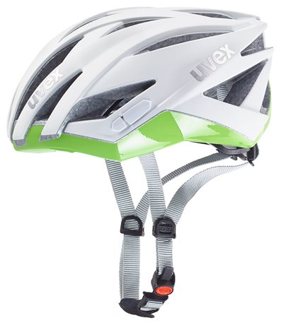 UVEX ULTRASONIC RACE LADY, WHITE MAT-GREEN 2016
