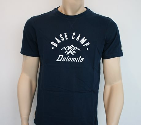 Dolomite T-Shirt Base Camp Mt Blue Navy