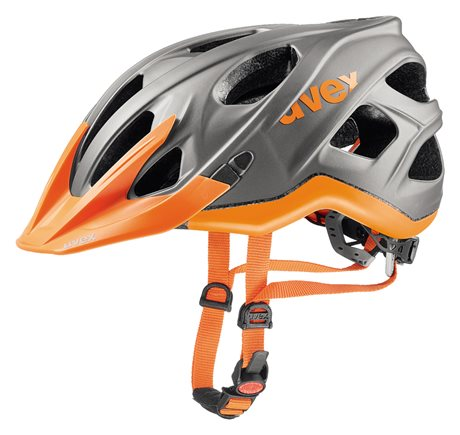 UVEX STIVO CC, GREY-NEON ORANGE 2017