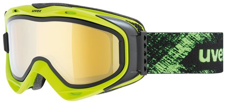 UVEX G.GL 300 TAKE OFF OTG lime mat/mir gold/lgl clear S5502137026 17/18