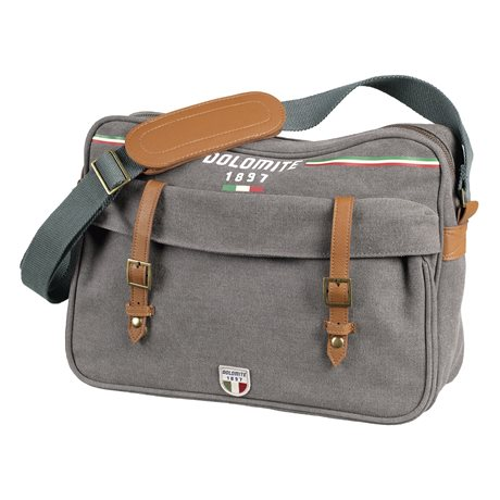 Dolomite Sessanta Messanger Bag Smog Grey