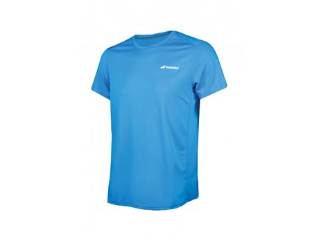Babolat Flag Tee Men Core Club Diva Blue