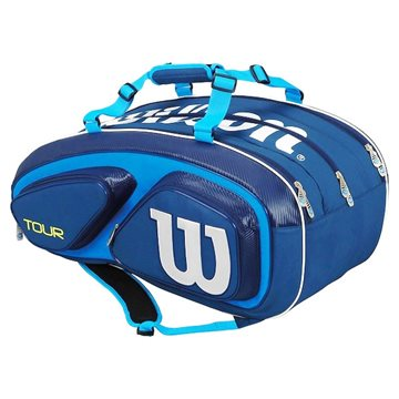 Produkt Wilson Tour V 15 Pack Blue