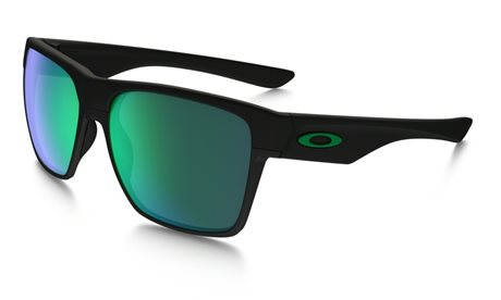 OAKLEY Two Face XL matte Black w/ Jade Irid