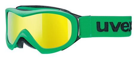 UVEX WIZZARD DL MIRROR, green/litemirro yellow S5538257026