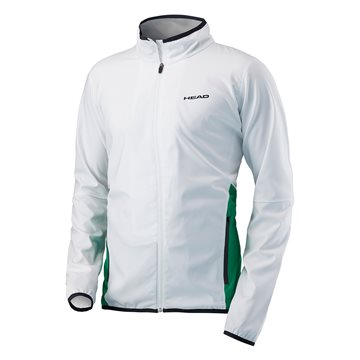 Produkt HEAD Club Jacket Men White/Green