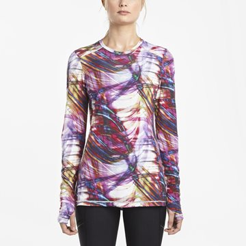 Produkt SAUCONY FREEDOM LONG SLEEVE CREW MULTI PRINT