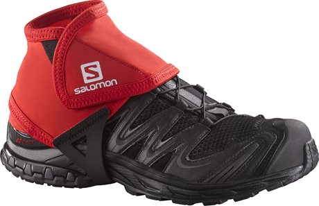 Salomon Trail Gaiters Low Red 380020