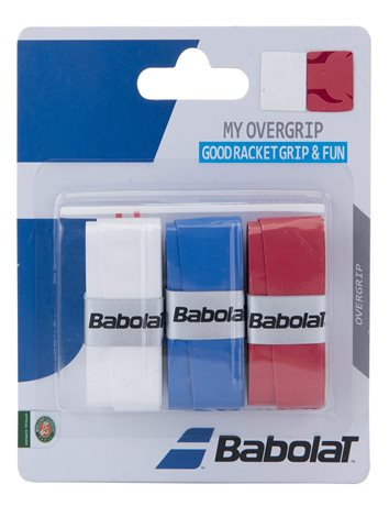 Babolat My Overgrip X3 White/Blue/Red