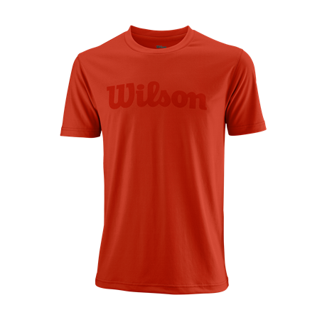 Wilson M UWII Script Tech Tee Red