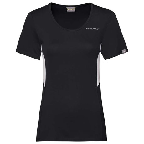 HEAD Club Technical T-Shirt Women Black