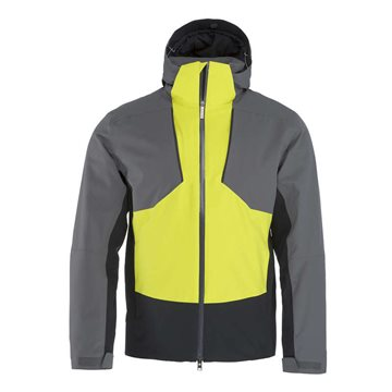 Produkt Head Glacier Jacket Men Anthracite/Yellow