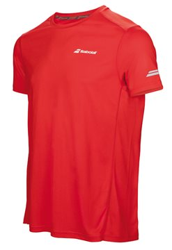 Produkt Babolat Flag Tee Boy Core Club Fluo Red