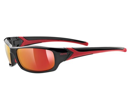 UVEX SPORTSTYLE 211, BLACK RED (2213) 2021