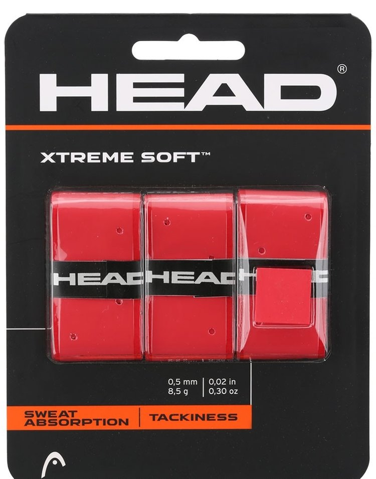 HEAD XtremeSoft Red X3