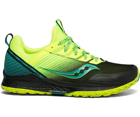 Saucony Mad River TR Citron/Black