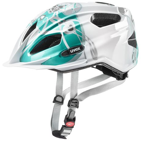UVEX QUATRO JUNIOR, WHITE TEAL 2019