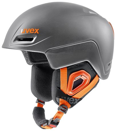 UVEX JIMM grey-black-orange mat S566206220 17/18
