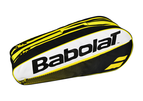 Babolat Club Classic Racket Holder X5 Yellow 2018