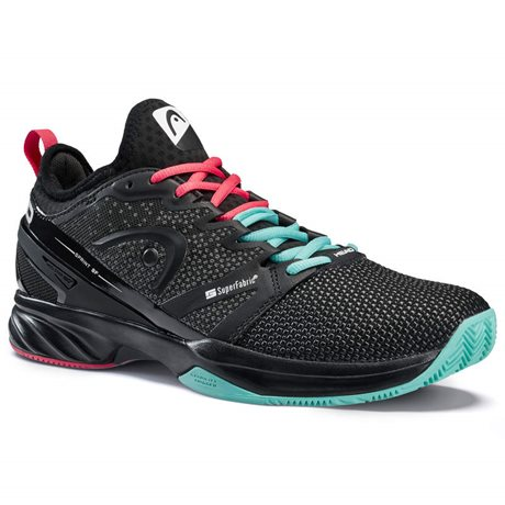 HEAD Sprint SF Clay Men Black/Teal 2020