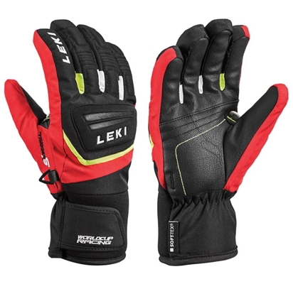 Leki Worldcup S Junior black-red-white-yellow 643880701 18/19