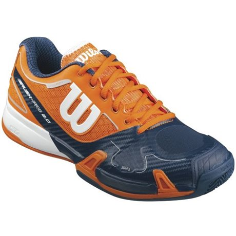 Wilson Rush Pro 2.0 Clay Men Orange