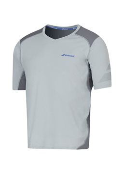 Produkt Babolat V-Neck Tee Men Performance Grey 2016