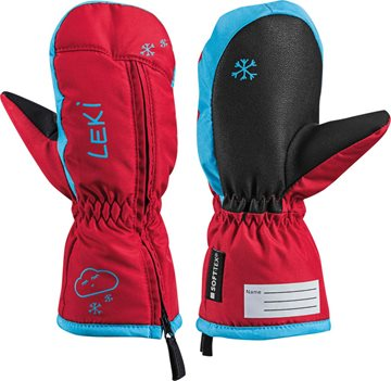 Produkt Leki Little Snow Mitt red-cyan 643890402 18/19