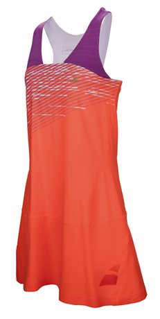Babolat Racerback Dress Women Performance Fluo Red
