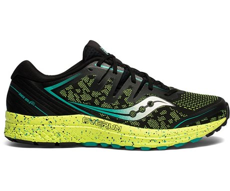 Saucony GUIDE ISO 2 TR Black/Citron