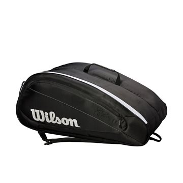 Produkt Wilson Federer Team 12 Pack Black